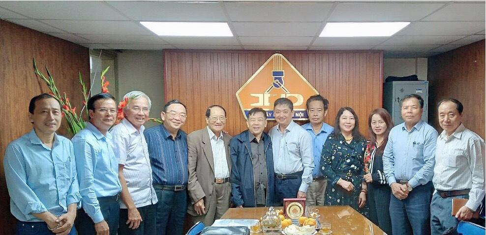 Hội Xây dựng TP Hà Nội làm việc với Tổng Hội Xây dựng Việt Nam